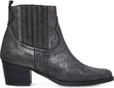 Carvela Strummer metallic leather ankle boots