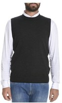 H953 Men's Grey Wool Vest.