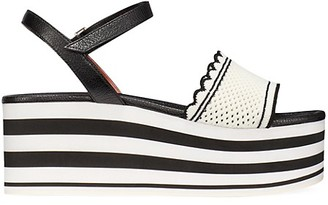 Kate Spade Highrise Spade Platform Wedge Sandals