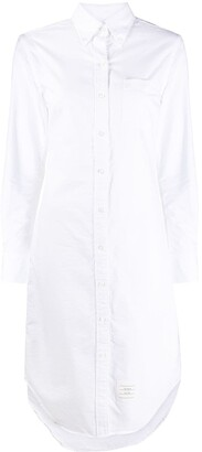 Thom Browne Knee-Length Shirt Dress