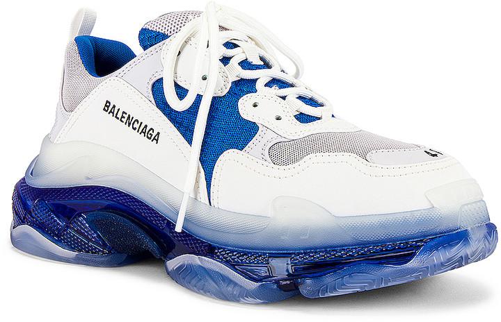 Balenciaga s Triple S Clear Air Unit White Black HYPEBAE