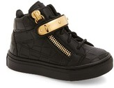 Giuseppe Zanotti Infant Girl's High Top Sneaker