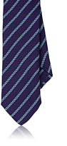 Barneys New York MEN'S STRIPED JACQUARD NECKTIE
