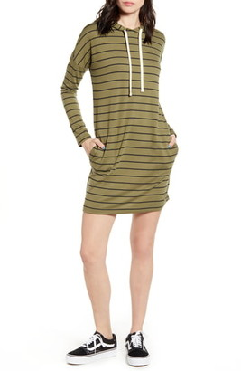 Billabong So Easy Long Sleeve Hoodie Minidress