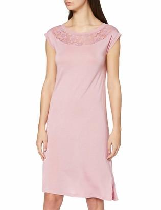 Lovable Women's Pink Modal Nightgown