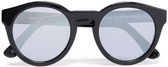 SUNDAY SOMEWHERE Cat-eye Acetate Sunglasses