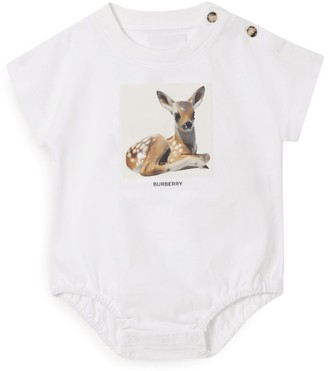 Burberry Kids Deer Bodysuit (1-18 Months)