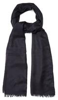 Lanvin Frayed-edge Wool-blend Scarf