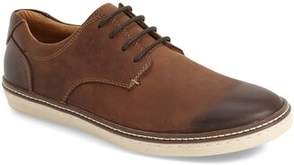 Johnston & Murphy 'McGuffey' Plain Toe Derby