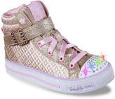 Skechers Girls Twinkle Charm Toddler & Youth Light-Up Sneaker