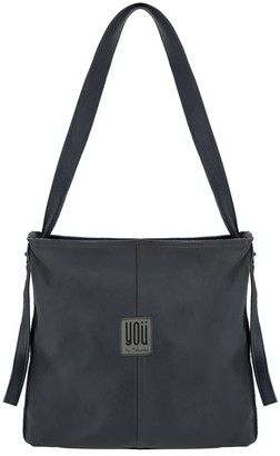 You By Tokarska Leather Handbag Nepal Grey