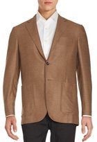 Canali Solid Double-Face Sportcoat
