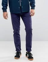 Asos Skinny Jeans In Navy