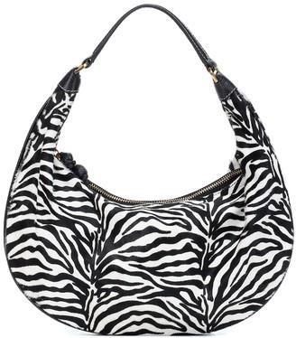 STAUD Sasha calf hair shoulder bag