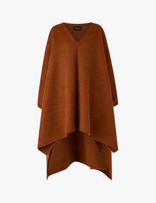 Joseph Ciela wool and cashmere-blend cape