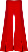Thierry Mugler flared trousers - women - Spandex/Elastane/Viscose - 38