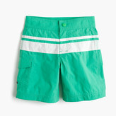J.Crew Boys' board short in double stripe