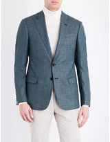 Armani Collezioni Regular-fit Wool-blend Jacket
