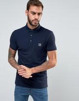 BOSS ORANGE by Hugo Boss Slim Fit Polo Shirt in Navy