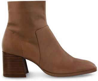 Tony Bianco Wade Caramel Diesel Wax Ankle Boots