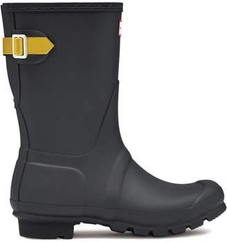 Hunter Short Back Adjustable Matte Rain Boot