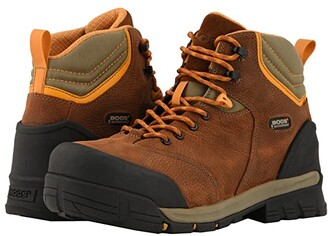 Bogs Bed Rock Mid Puncture Proof (Brown Multi) Men's Boots
