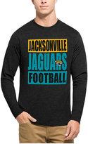 '47 Men's Jacksonville Jaguars Compton Club Long-Sleeve T-Shirt