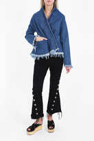 Marques Almeida Draped Denim Jacket