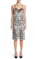 ADAM by Adam Lippes Women's Ocelot Velvet Jacquard Dress