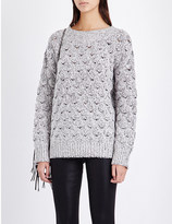 J Brand Camelia textured knitted jumper
