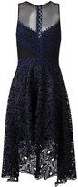 Jonathan Simkhai cut-off detailing sheer dress - women - Silk/Polyester/Spandex/Elastane - 4