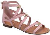Blush Covina Embellished Gladiator Sandal