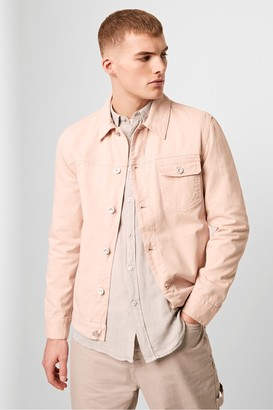 French Connection Inter Peach Drill Jacket
