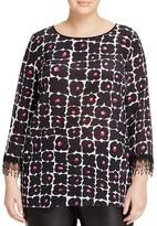 Marina Rinaldi Bea Printed Silk Blouse