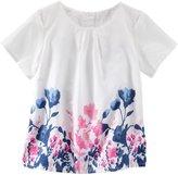 Osh Kosh Woven Print Top (Toddler/Kid) - Floral-6