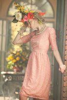 Shabby Apple Peony Pink Dress