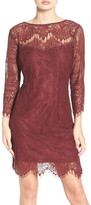 BB Dakota Everton Illusion Lace Sheath Dress