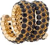 Oscar de la Renta gemstone cuff bracelet