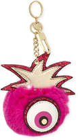 Neiman Marcus One-Eyed Monster Faux-Fur Key Chain