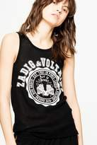 Zadig & Voltaire Lou Resille Bis Tank Top