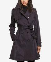 Lauren Ralph Lauren Double-Breasted Trench Coat, Only at Macy's