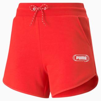 Puma Rebel Women's High Waist Shorts