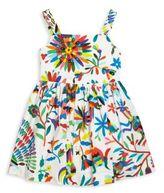 Milly Minis Toddler's, Little Girl's & Gilr's Folkloric Print Poplin Dress