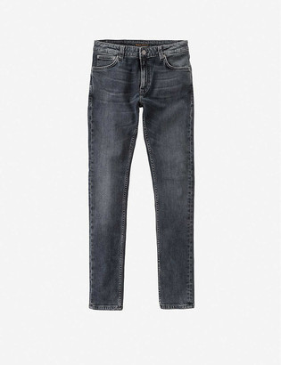 Nudie Jeans Skinny Lin skinny stretch-denim jeans