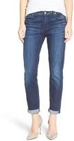 7 For All Mankind 'Josefina' Boyfriend Jeans (Bordeaux Broken Twill)