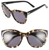 Ted Baker Women's 56Mm Cat Eye Sunglasses - Black/ Light Purple