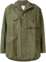 MHI oversized military jacket