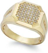 Effy Gento by Men's Diamond Cluster Ring in 14k Gold (1/2 ct. t.w.)