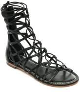 Bernardo Willow Caged Gladiator Leather Sandals