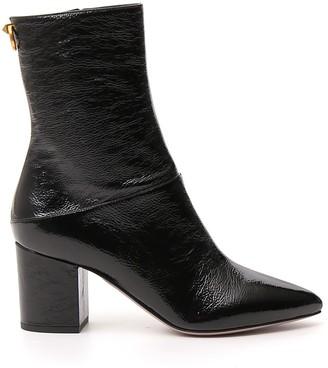 Valentino Block Heel Ankle Boots